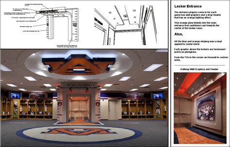 locker room auburn auburn locker room by spencer battle at coroflot