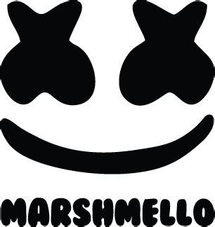 Kaos Logo Dj Marshmello Hitam marshmello logo vector s7 dreams