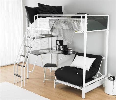 White Futon Bunk Bed White Futon Bunk Bed Concept White Bunk Bed With Futon