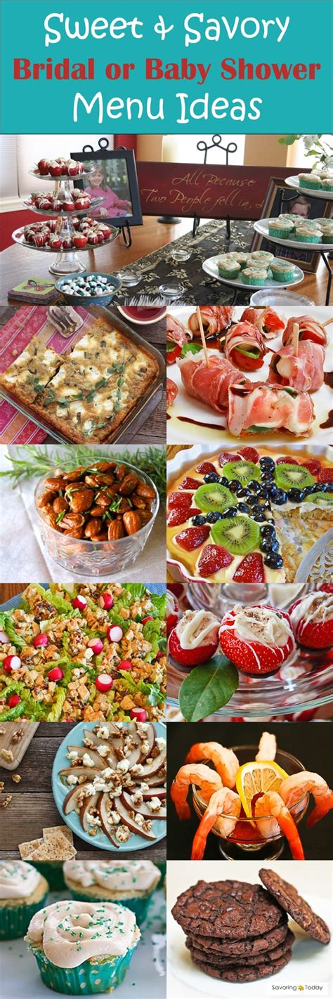 menu ideas for bridal shower more than 25 bridal shower menu ideas gluten free