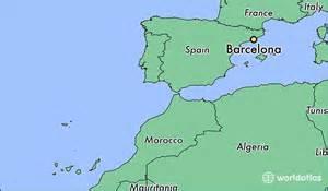 Barcelona Spain Map by Where Is Barcelona Spain Where Is Barcelona Spain