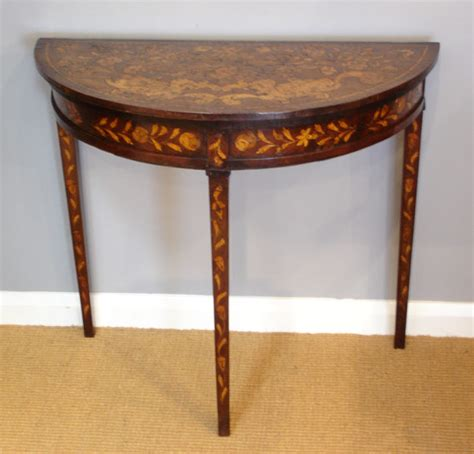 Antique Console Table by Inlaid Console Table Console Table Side Table