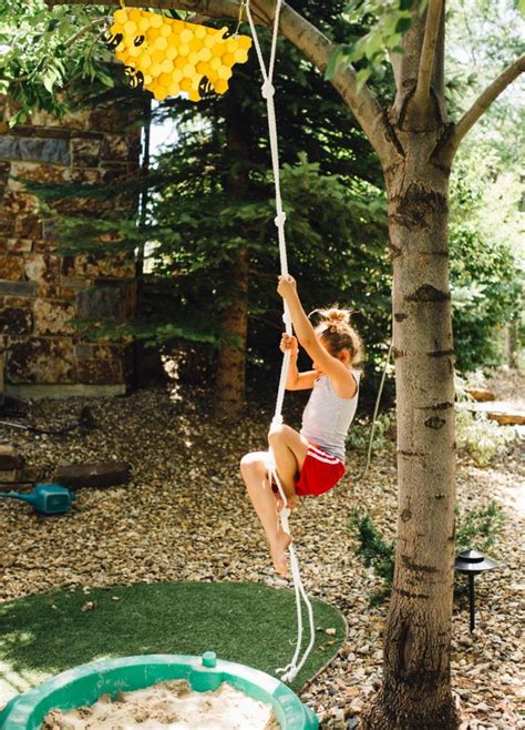 Backyard Climbing Rope by Diy Backyard Jungle Obstacle Course For Momtastic