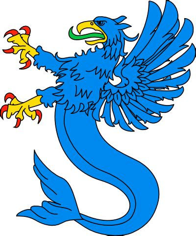 grifo heraldica dibujo her 193 ldico grifos