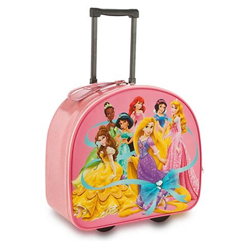 disney princess rolling carry on suitcase luggage rapunzel