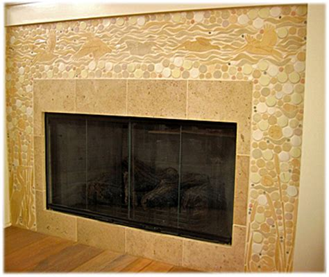 Ceramic Tile Fireplace by Ceramic Tile Fireplace Surround