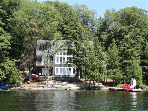 muskoka beach house s w exposure on lake vrbo