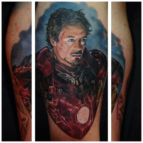robert downey jr tattoo clapping this robert downey jr iron by