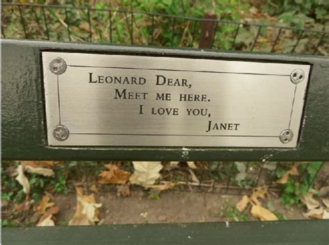 madeline kahn bench central park 193 central park benches 1000 things to do new york