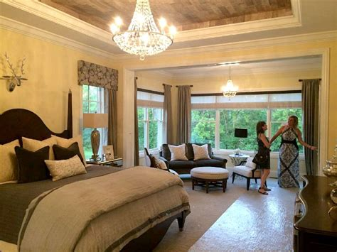 master bedroom with sitting room homearama house tour 5 the bella noelle model hooked