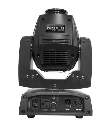 Moving Rotation 8 X 15 Watt chauvet dj intimspotled250 8 or 13 dmx channel led powered moving spot with 3 facet rotating