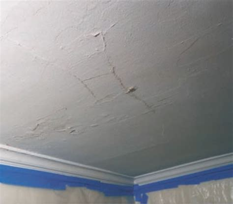 Fixing A In The Ceiling by How To Fix Plaster Ceilings House Restoration