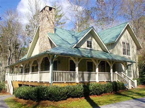 Cottage House Plans With Wrap Around Porch by The Cottage Retreat 26607gg 1st Floor Master