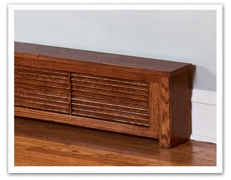 Wooden Tool Boxes Custom Wood Baseboard Radiator Covers