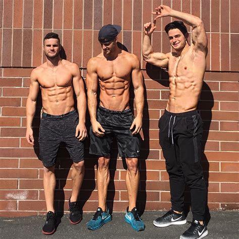 imagenes de fitness hombres a marcar y definir con los chicos del gym el124