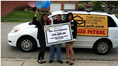 Publishers Clearing House Prize Patrol Van - what does the prize patrol do when winner isn t home pch blog