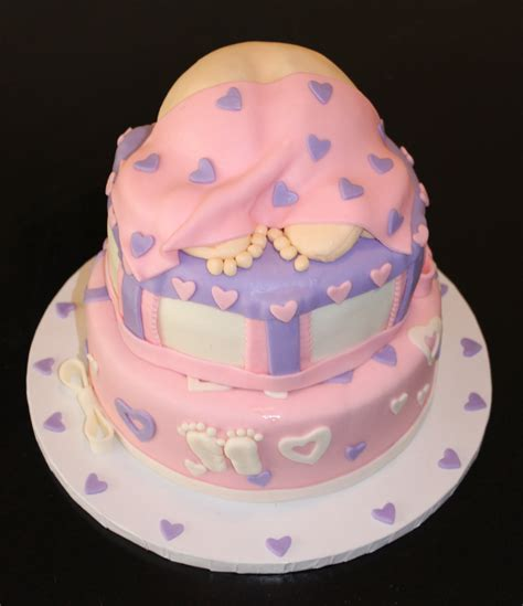 cute themes for a baby girl cute baby shower cake designs for girls best collections