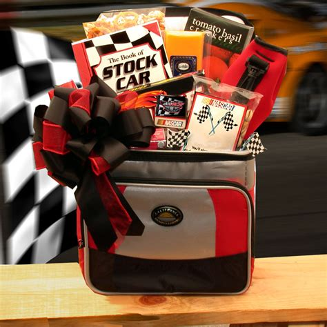 gift baskets for men sports gift baskets nascar lovers