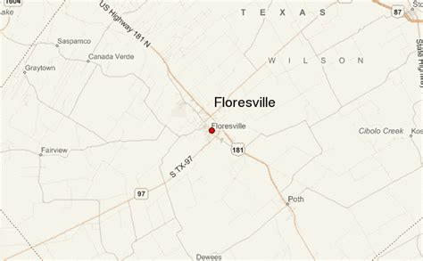 floresville texas map floresville location guide
