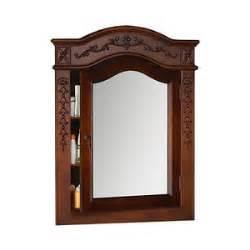 vintage style medicine cabinet ronbow vintage style solid wood framed medicine cabinet in