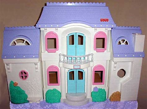 fisher price dolls house this old toy s fp 1993 1999 doll house identification list