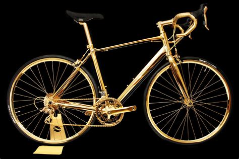 gold motorcycle 24k gold racing bike costs rolls royce wraith money