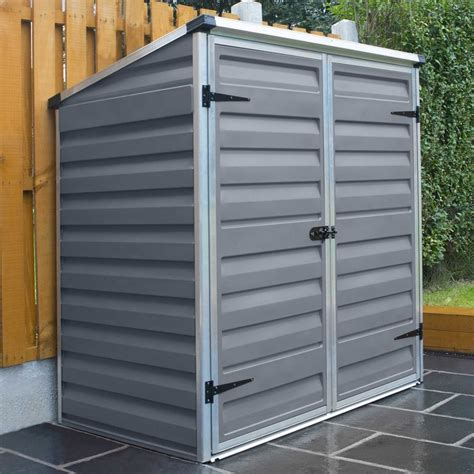 Shed Heater Uk by Palram Voyager Skylight Anthracite Shed Gardenstreet Co Uk