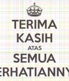 terima kasih atas semua perhatiannya poster ifadfadli keep calm o matic