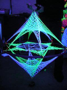 Black Light String Lights by Stringart Deko Dreieck Mind Change System Quot Lotos
