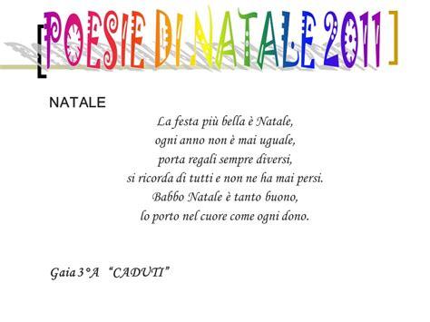 filastrocca di natale testo poesie di natale 2011 natale la festa pi 249 232 natale