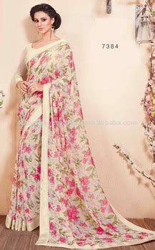 Floral Print Blouse Material For Saree by Saree Blouse Designs Georgette Saree Blouse Floral