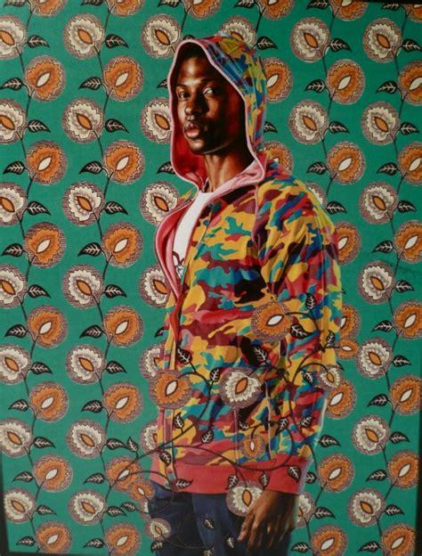Pattern Portrait Artist | artodyssey kehinde wiley