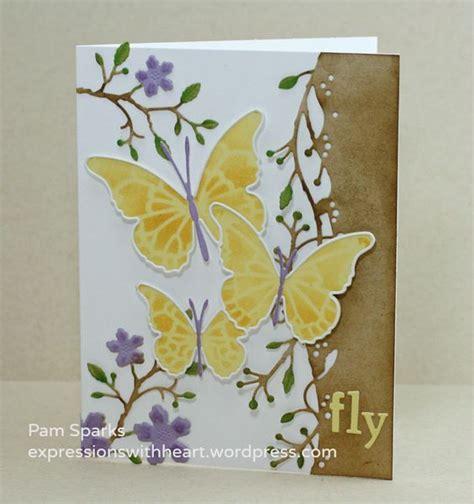 Dies Butterfly B memory box floating butterflies die and floating