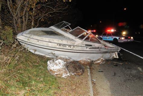 crash boat directions car hits boat on lie service road the huntingtonian