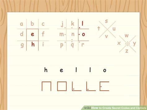 Secret Letter Codes