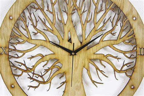 Kitchen Design Newcastle tree design laser cut clock