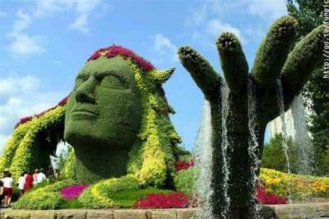 arte giardino el jardin arte topiario escultura vegetal