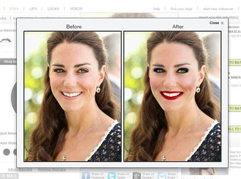 extreme makeover kate middleton s extreme makeover m s virtual beauty