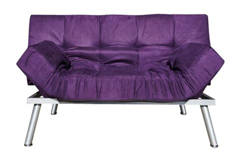 Cheap College Futons by The College Cozy Sofa Mini Futon Purple Furniture
