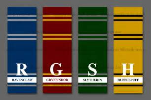 hogwarts house colors 4 best images of color your own harry potter printable