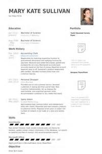 Curriculum Vitae Of An Accountant by Commis Comptable Exemple De Cv Base De Donn 233 Es Des Cv De