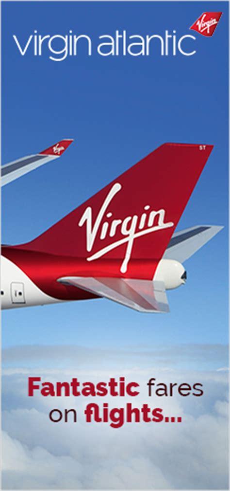 book virgin atlantic flights plane   airfare wakanow