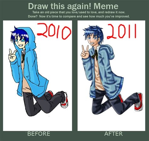 Draw This Again Meme - draw again meme by sapphire blossom mai on deviantart