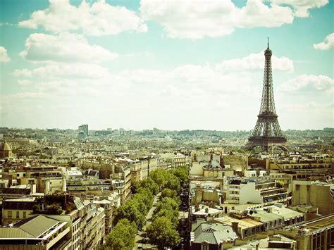 paris pictures beautiful paris photo taken from the top of arc de