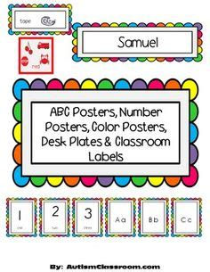 abc card template editable name tags editable desk name plates rainbow stick