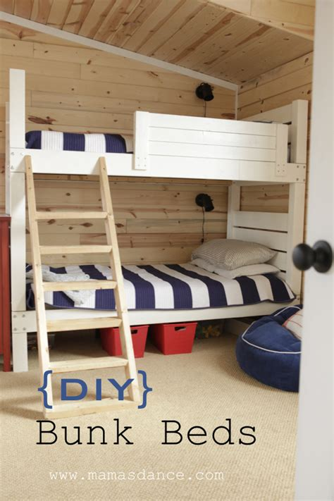 ana white bunk beds land  nod inspired diy projects