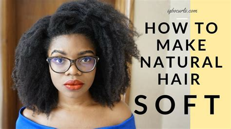 how to fix long hair in upsweep bnfrofriday 2 simple ways to make natural hair soft all