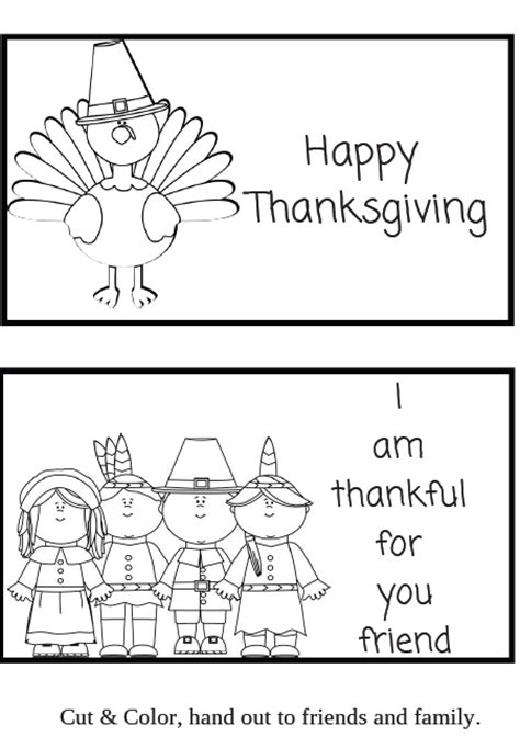 Printable Thanksgiving Cards For Preschoolers | free thanksgiving writing printable worksheets