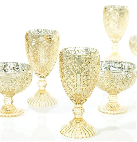 Gold Compote Vase by Kingston Gold Compote Vase