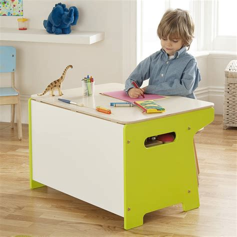 Dinosaur Toy Box And Desk By Millhouse Kid At Desk